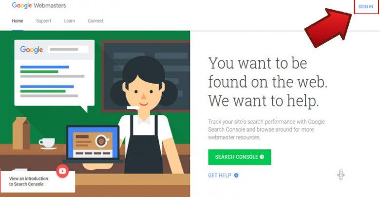 آموزش ثبت سایت در گوگل وبمستر 1