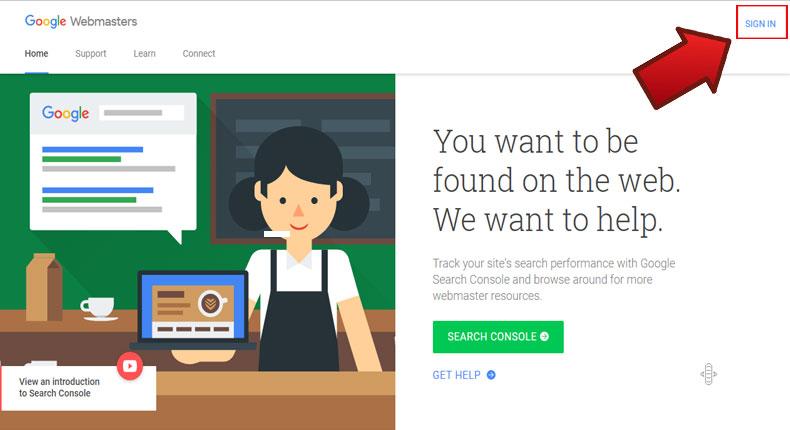 آموزش ثبت سایت در گوگل وبمستر 2