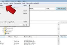 آموزش رفع خطا Failed To retrieve directory listing در Filezilla