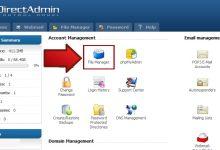 آموزش رمز گذاری بر روی فولدر ادمین در Direct Admin 14