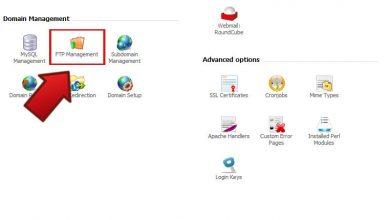 آموزش ساخت اکانت Ftp در هاست لینوکس Direct Admin
