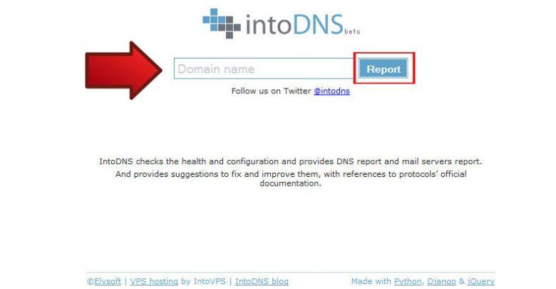 روش بررسی DNS های یک دامنه 1