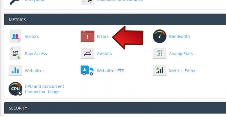 فایل error_log چیست؟