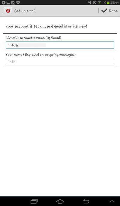 آموزش تنظیم ایمیل در سیستم عامل اندروید 6