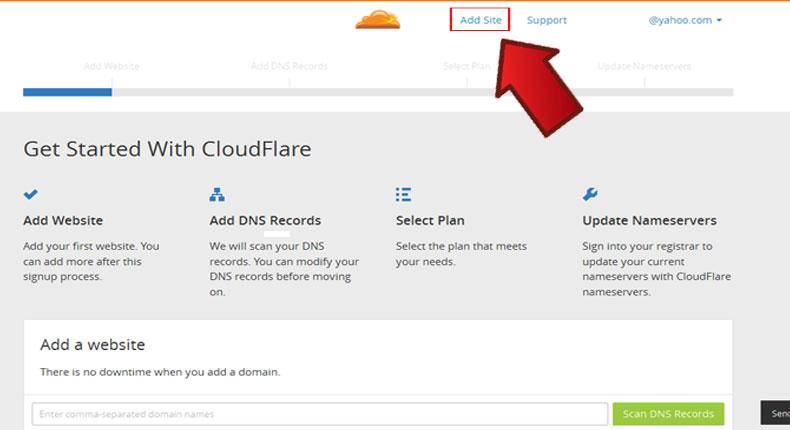 آموزش فعال سازی CloudFlare 4