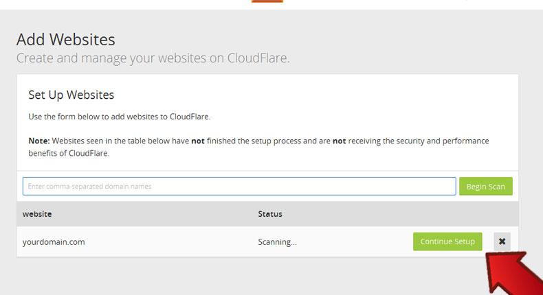 آموزش فعال سازی CloudFlare 6