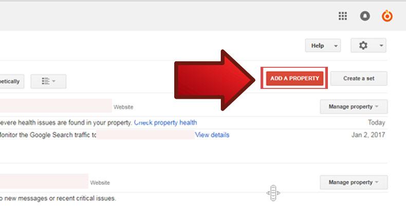 آموزش ثبت سایت در گوگل وبمستر 3