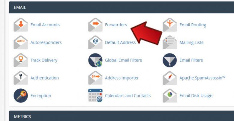 آموزش Forward کردن ایمیلها در Cpanel 1