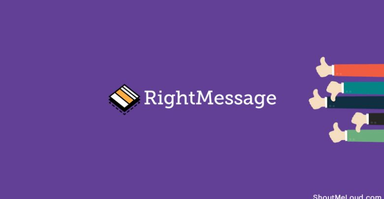 بررسی RightMessage: اضافه کردن شخصی سازی و افزایش محصول دیجیتال شما 1