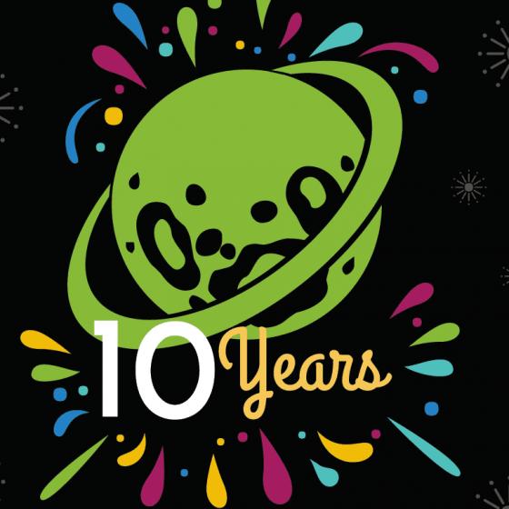 دهمین سالگرد PlanetHoster