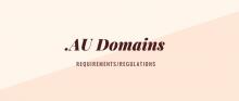 قوانین ثبت دامین استرالیا .AU 50