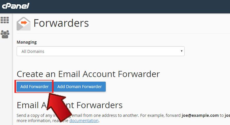 آموزش Forward کردن ایمیلها در Cpanel 3