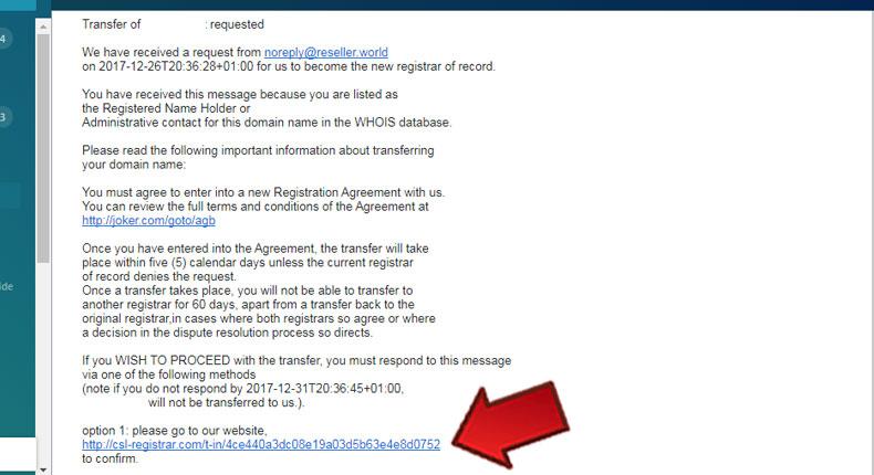 آموزش تایید ایمیل های انتقال دامنه به پنل جوکر