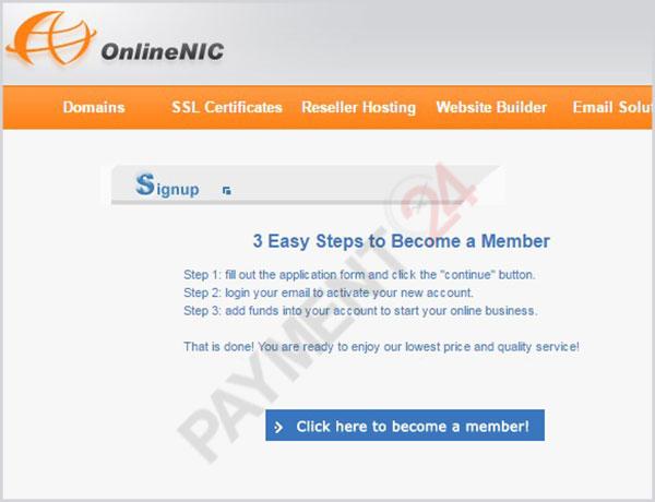 ثبت نام در سایت آنلاین نیک