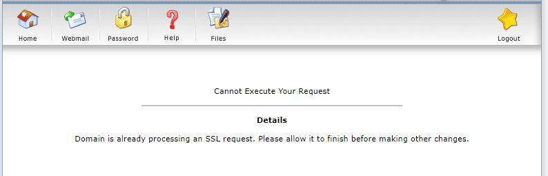 فعالسازی ssl رایگان در Direct Admin 3