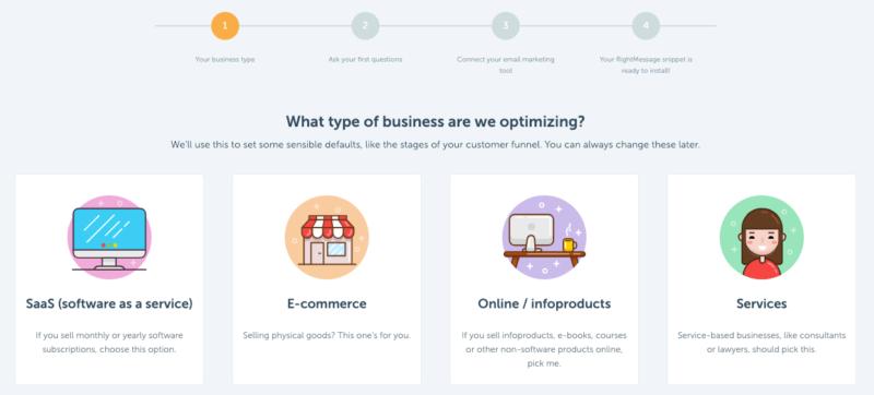 بررسی RightMessage: اضافه کردن شخصی سازی و افزایش محصول دیجیتال شما 2