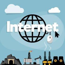 آلودگی، طرف دیگر اینترنت 1