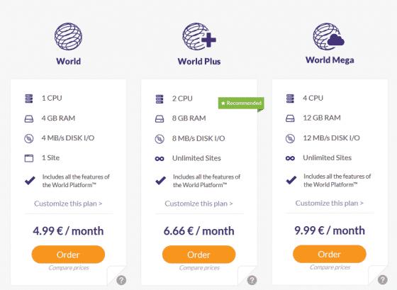 ارائه سه طرح برجسته - جهان