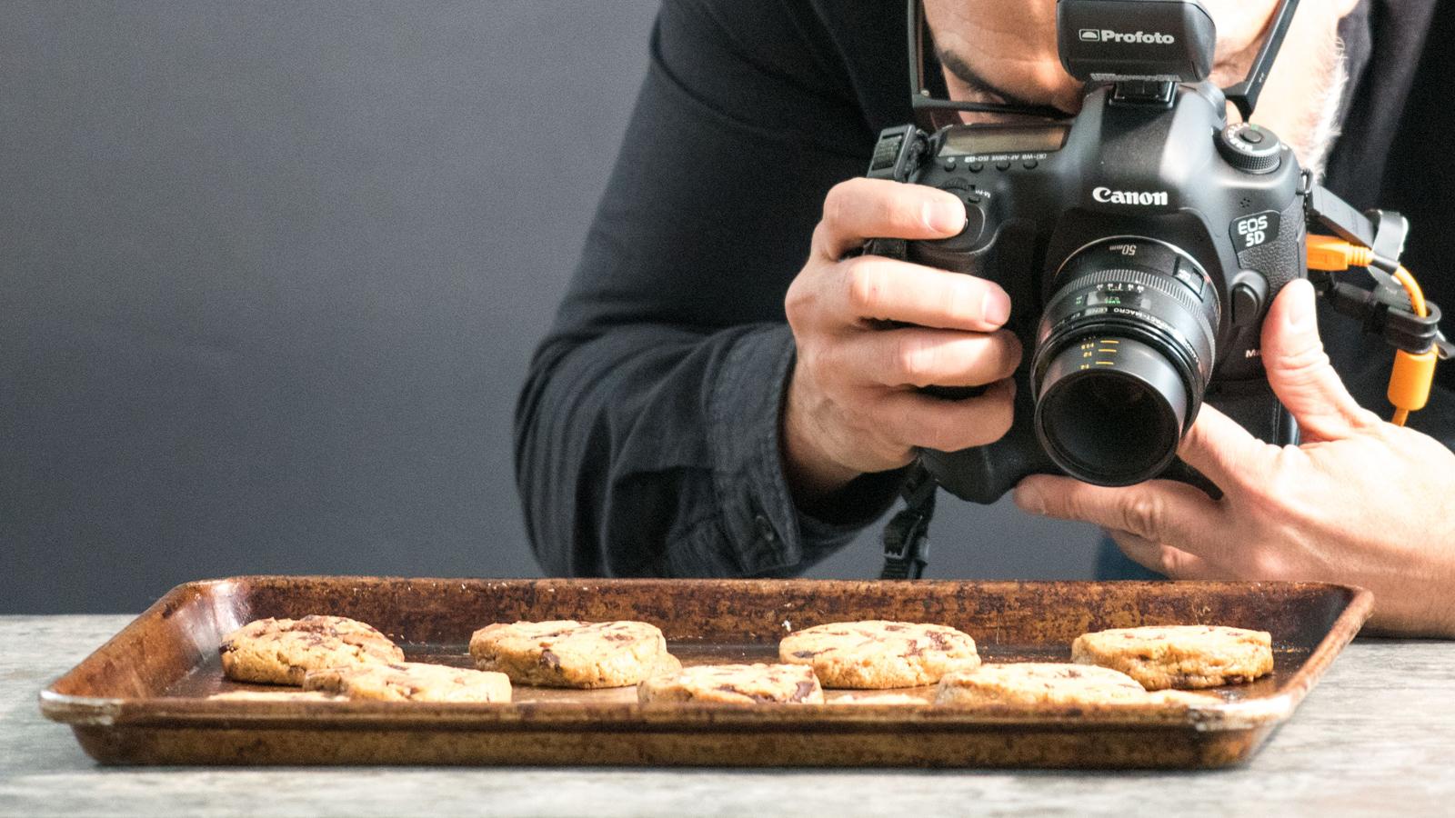 عکاس غذا