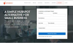 اصول طراحی لندینگ صفحه خوب برای ایمیل بازاریابی 7