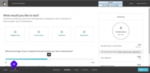 آزمایش A/B میل چیمپ برای ایمیل بازاریابی (راهنما) 12