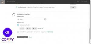 آزمایش A/B میل چیمپ برای ایمیل بازاریابی (راهنما) 19