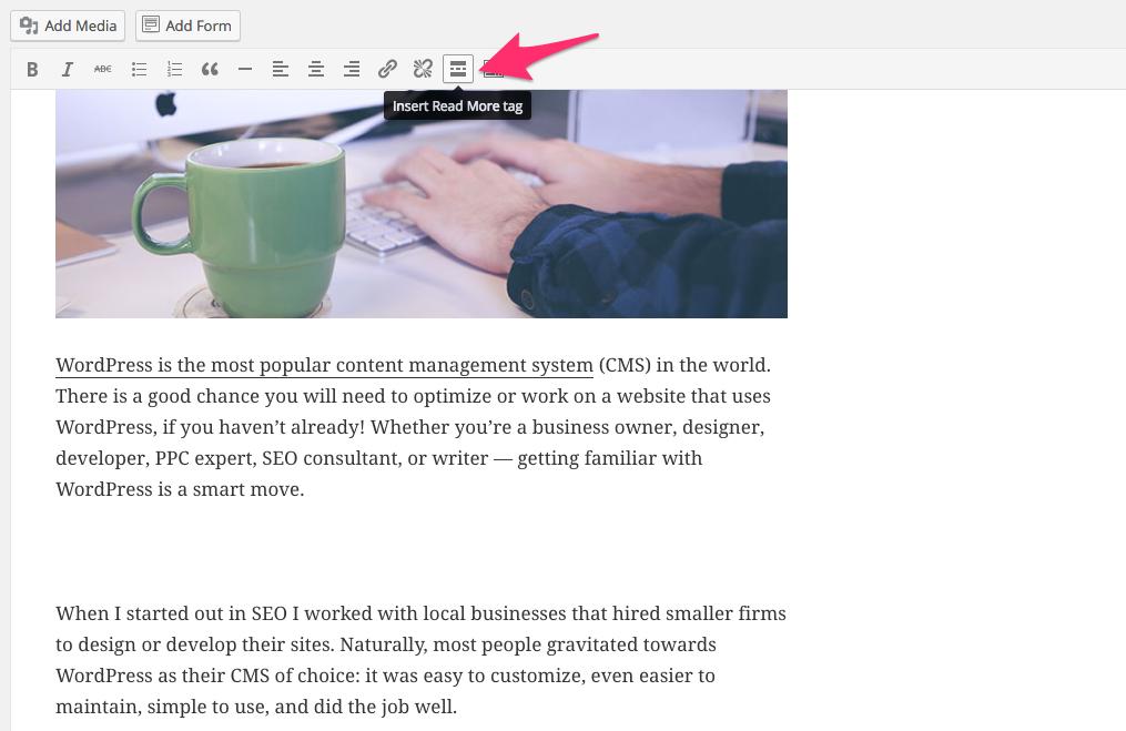 راهنمای بهینه سازی نوشته های بلاگwordpress شما (علاوه بر لیست) 9