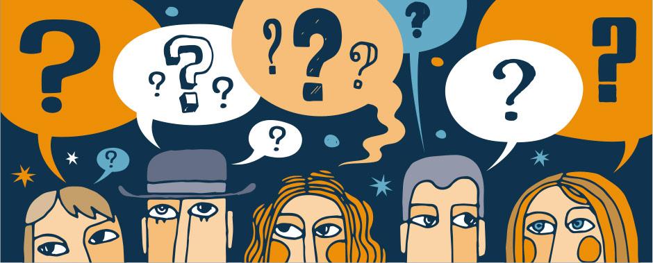 پرسیدن سوالات مناسب از مخاطب وبلاگ