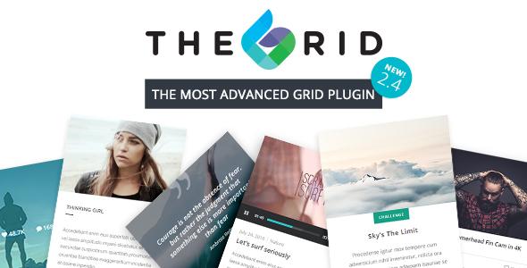 خرید رایگان The Grid - Responsive WordPress Grid Plugin