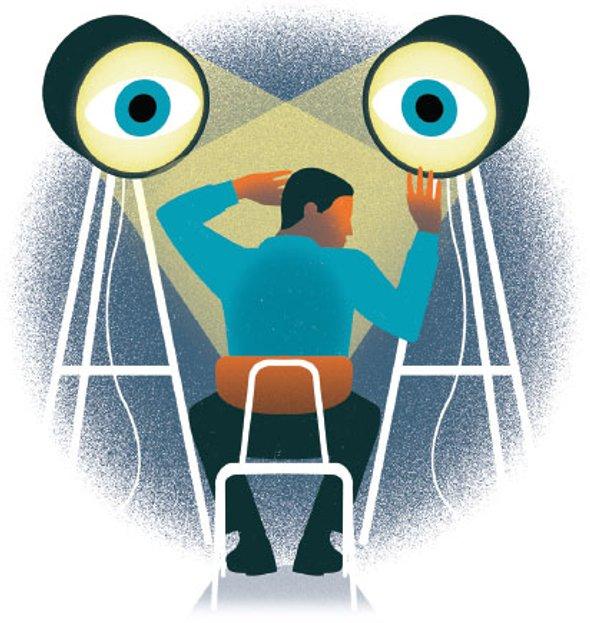 کاریزماتیک و تماس چشمی