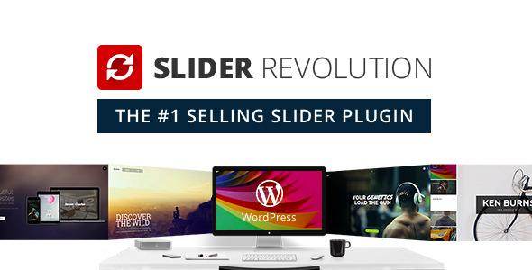 دانلود خرید Slider Revolution Responsive WordPress Plugin