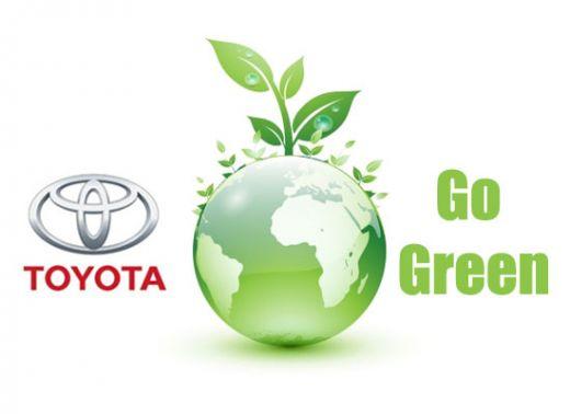 گواهینامه تکنولوژی سبز تویوتا
