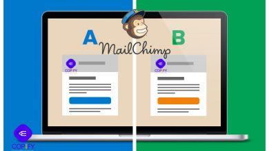 آزمایش A/B میل چیمپ برای ایمیل بازاریابی (راهنما) 4