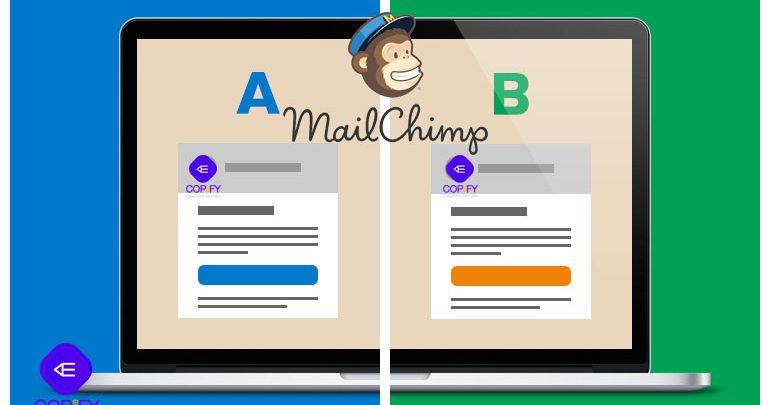 آزمایش A/B میل چیمپ برای ایمیل بازاریابی (راهنما) 1