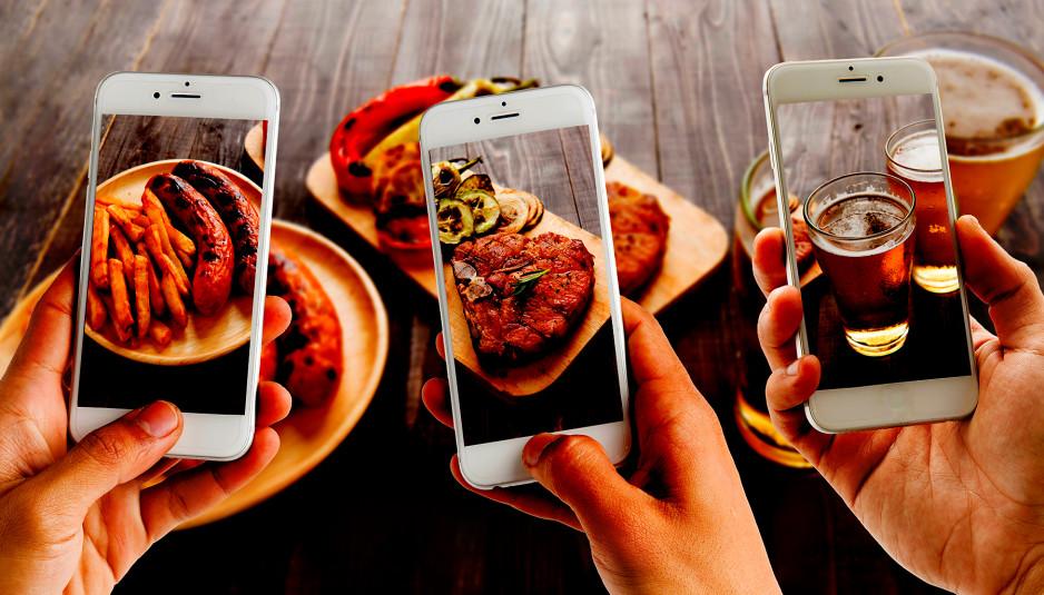 شبکه های اجتماعی رستوران ها