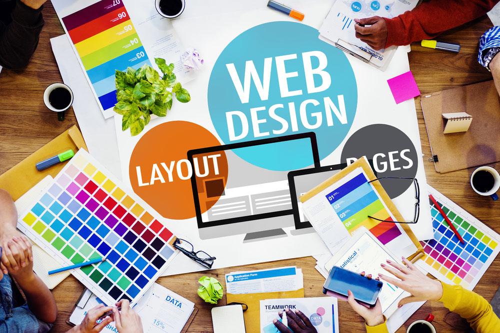 طراحی صفحه وب سایت