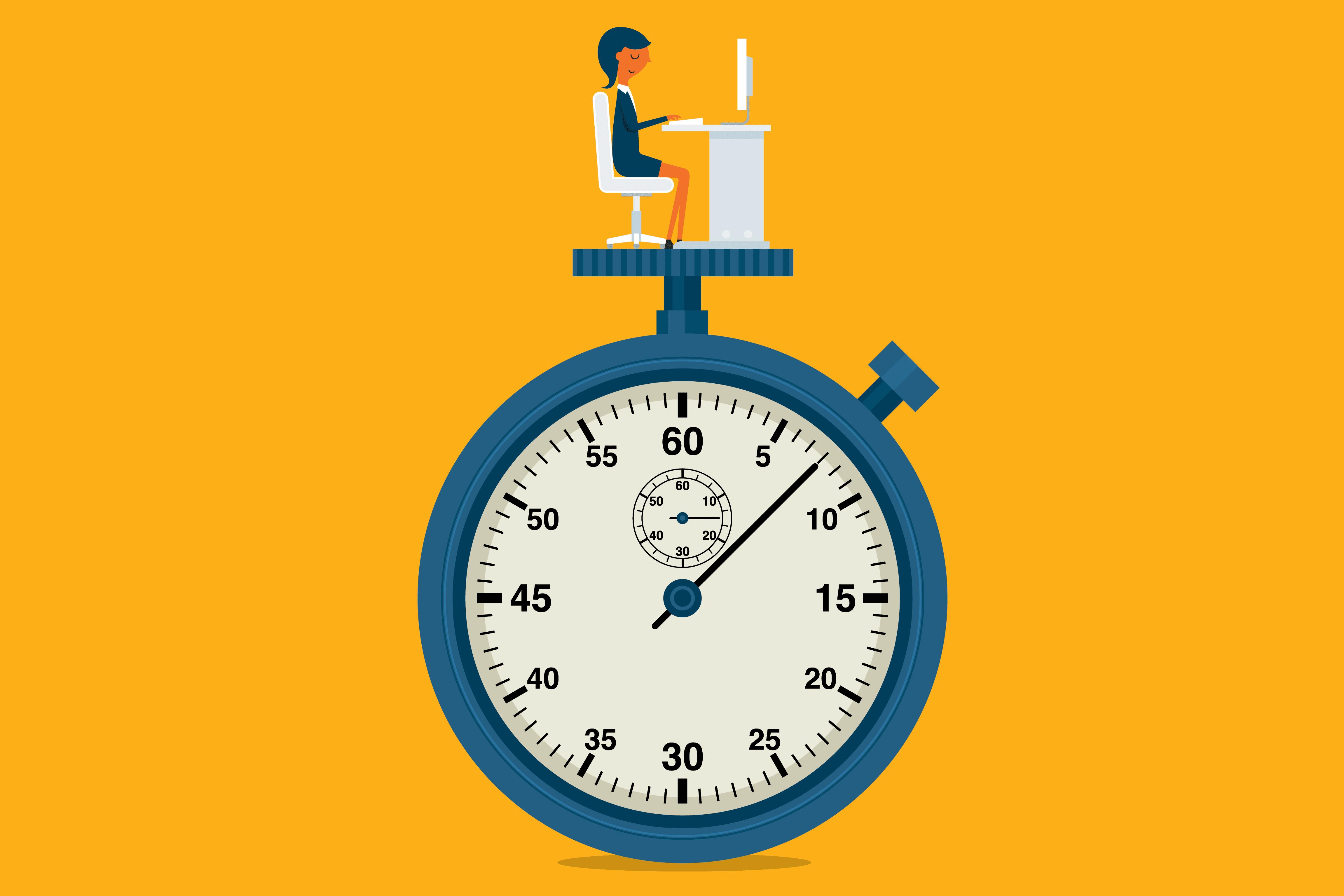 مدیریت زمان در روز قبل
