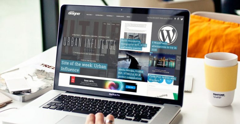 طراحی سایت با ورد پرس 1