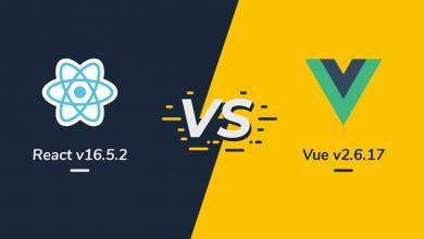 کدام فریم ورک مناسب است؟ React.JS یا Vue.JS 17