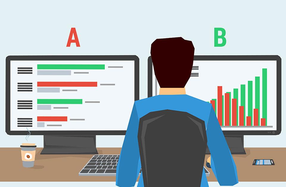 تست A/B برای بهینه سازی نرخ تبدیل