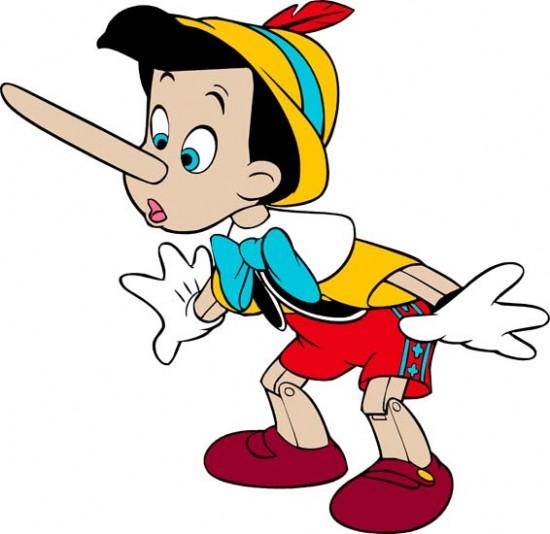 تولید محتوا و دروغ گویی!