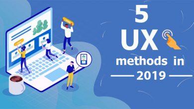 ۵ نحوه تازه UX در سال ۲۰۱۹ 9