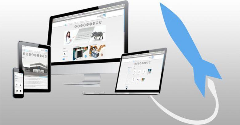 مثال های الهام قسمت برای طراحی وب 1
